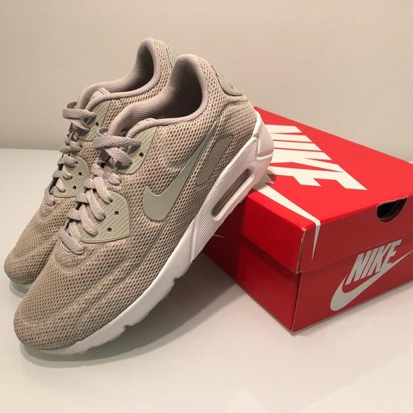 new arrival 6c881 c08af New Nike Air Max 90 Ultra 2.0 BR Pale Grey Men 9
